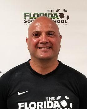 The Florida Soccer School Coach Vahe Boyajian