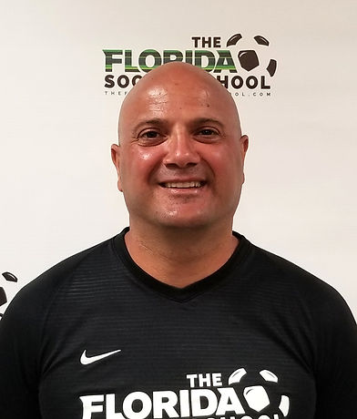 The Florida Soccer School Coach Vahe Boyajian