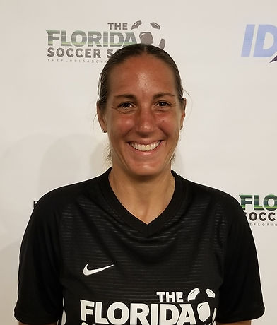 The Florida Soccer School Coach Illeana Moschos