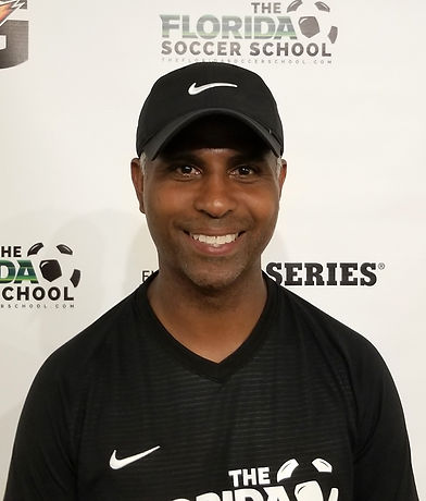 The Florida Soccer School Coach Sheldon Cipriani