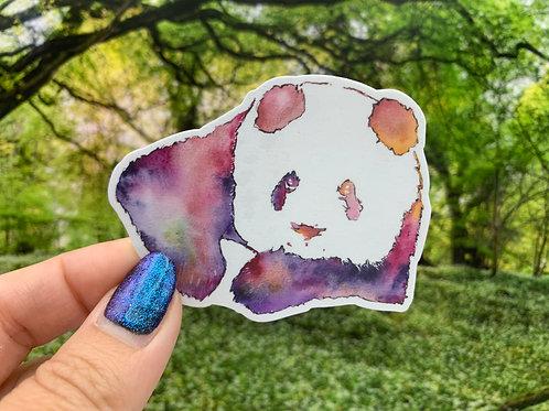 Panda Vinyl Sticker