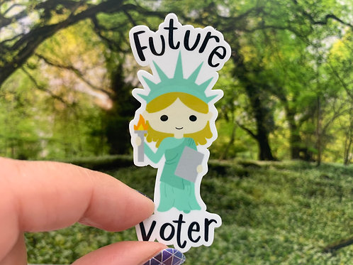 Future Voter Vinyl Sticker