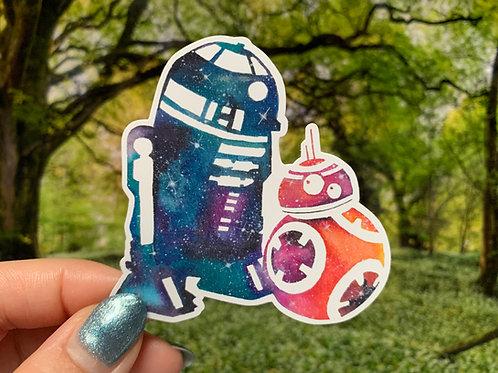 Star Wars Sticker Collection