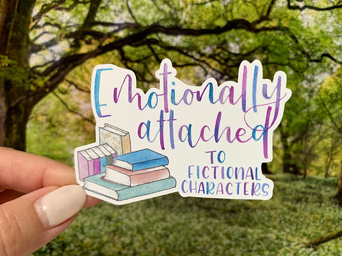 Emotionally Attached Vinyl Sticker
