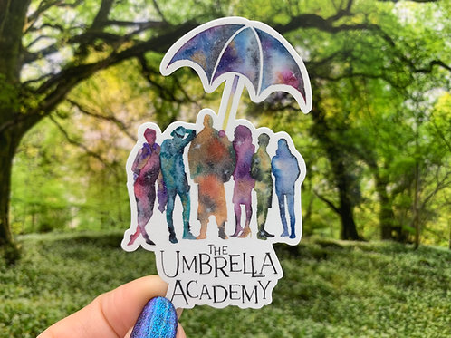 The Umbrella Academy Vinyl Sticker