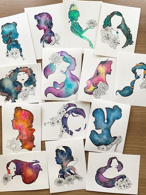 Princess Series Prints