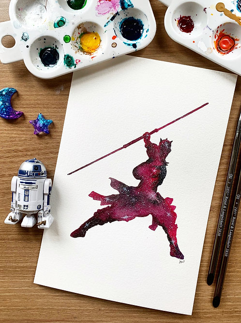 Darth Maul Ink Painting