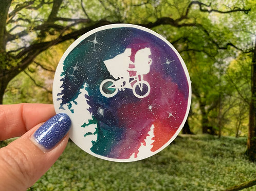 E.T. Vinyl Sticker