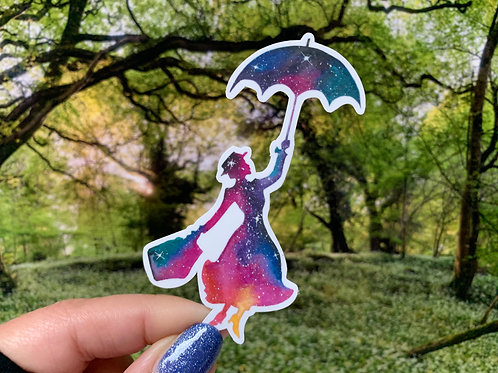 Mary Poppins Vinyl Sticker