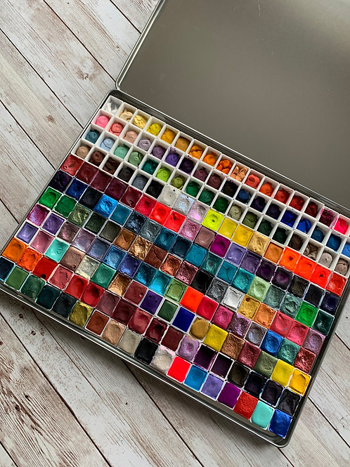 Mega Empty Watercolor Tin/Palette