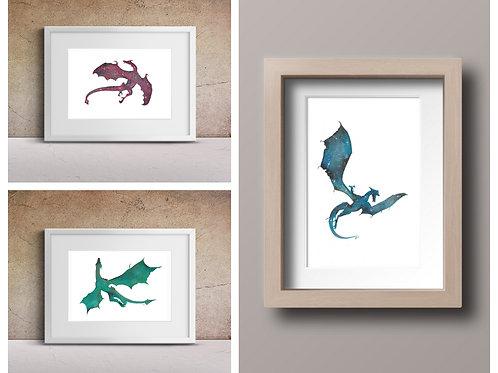 GoT Dragon Prints Collection
