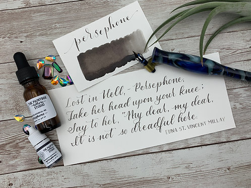 Botanical Ink - Persephone