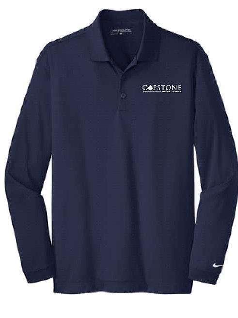 Capstone Nike Long Sleeve Polo
