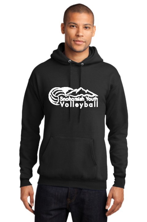 Sno Youth Volleyball Black Hoodie