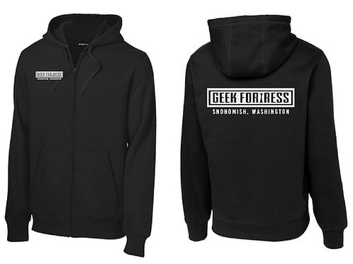 Geek Fortress Zip Hoodie