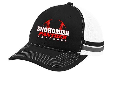 SHS Softball Striped Hat