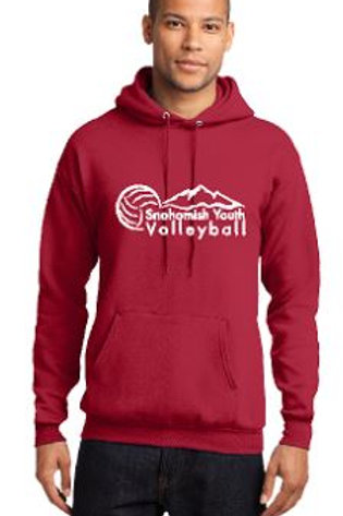 Sno Youth Volleyball Red Hoodie