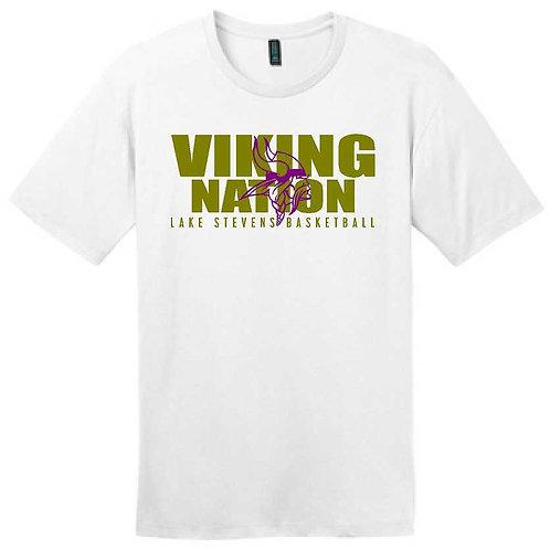 LSHS Basketball Viking Nation T