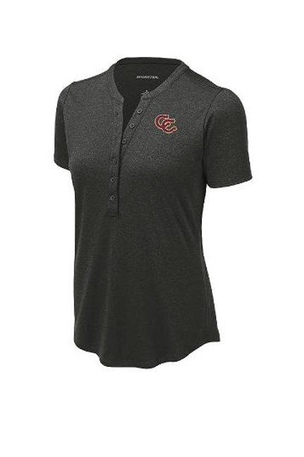 Cav Ladies Henley Shirt
