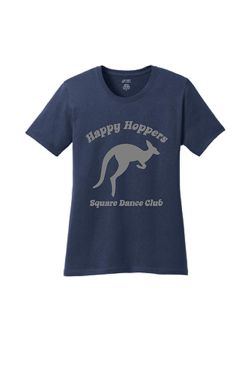 Happy Hoppers Ladies Cut Tshirt