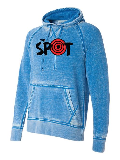 The Spot Blue Vintage Fleece Hoodie