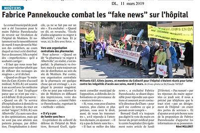 Itv FP sur hopital - NON AUX FAKE NEWS.j