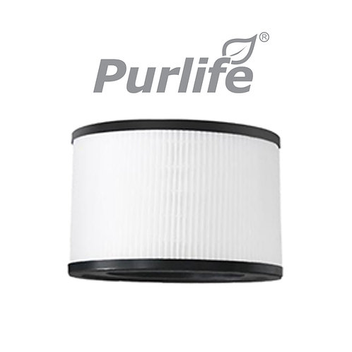 Purlife Indoor Air Purifier Airclear 360 HEPA Carbon Activated Filter