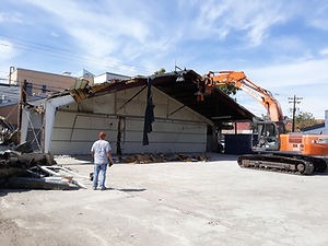 Warehouse Demolition