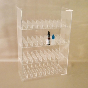 E Cig Juice Bottle Display