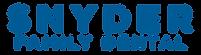 Snyder Family Dental logo