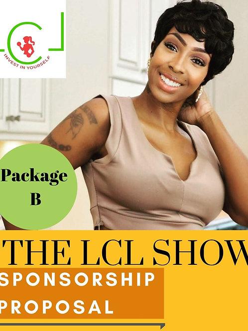 Package B' Sponsorship