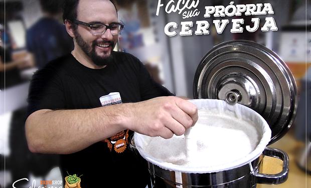Curso para produção de cervej caseira