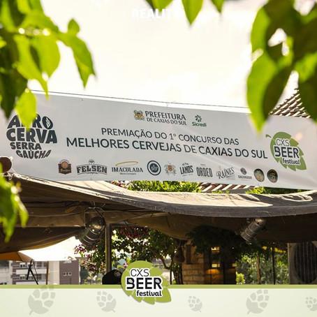 Premiação do 1º Concurso das Melhores Cervejas de Caxias do Sul