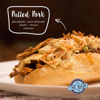 Sanduba de Porco, o pulled pork é um clássico da casa!