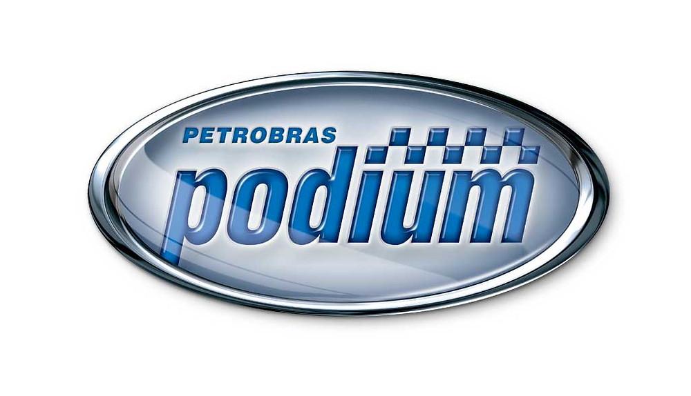 Logotipo Gasolina Podium
