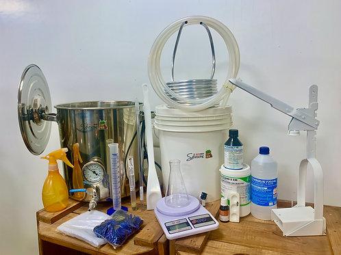 Kit Produção Cerveja até 20 Litros