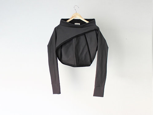 Dark grey shrug BASIC
