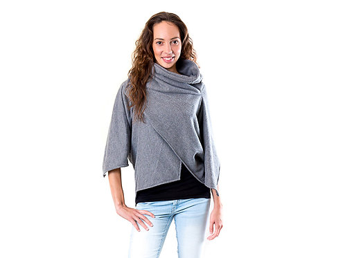 Oversized sweatshirt WRAP