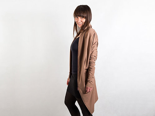 Brown cardigan BASIC
