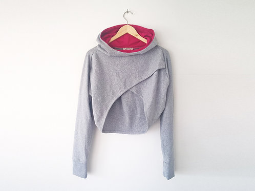 Hooded grey shrug BASIC