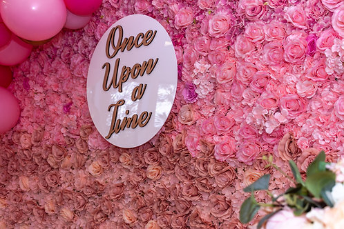 Once Upon a Time - signage