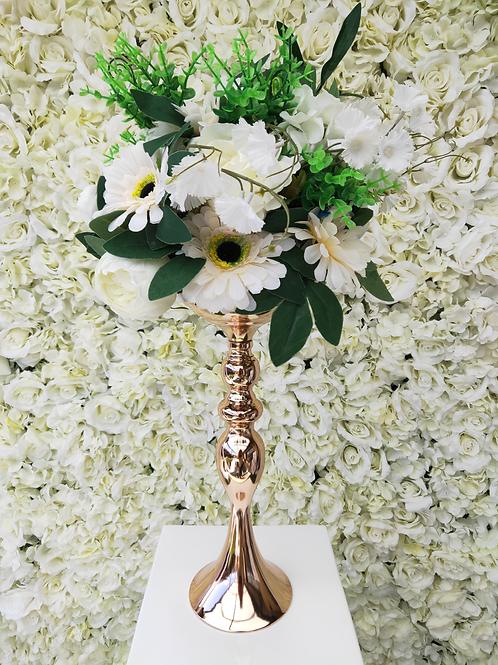 Gold Tall Vase