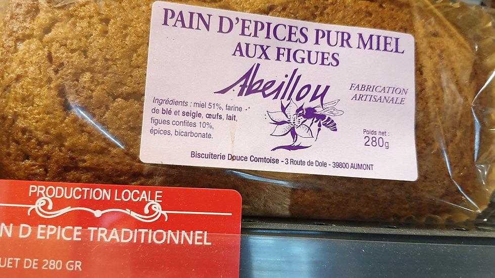 PAIN D EPICE AUX FIGUES 280 GR