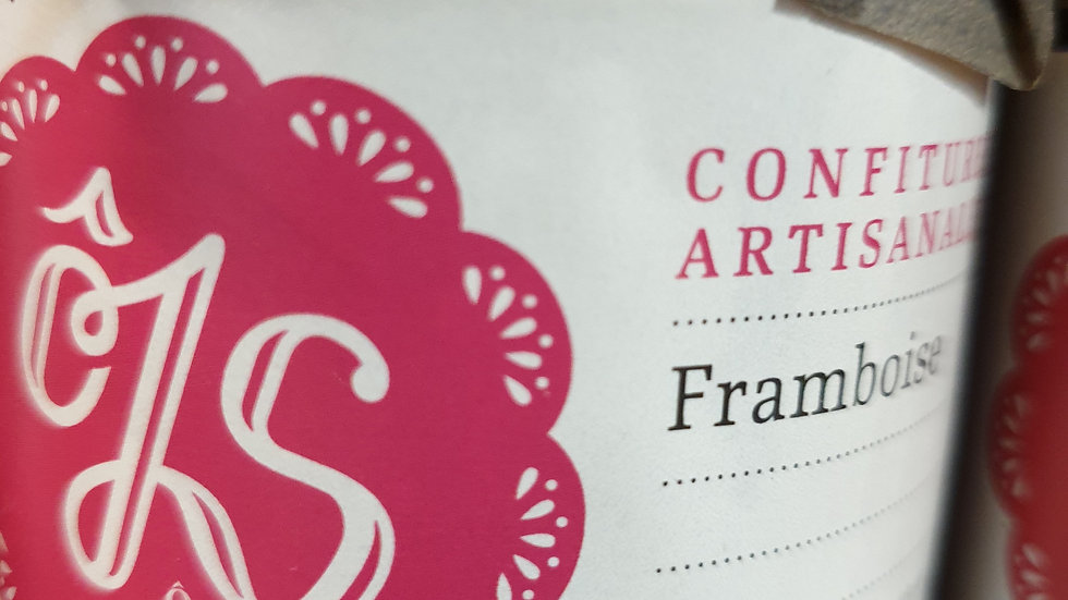 CONFITURE FRAMBOISES