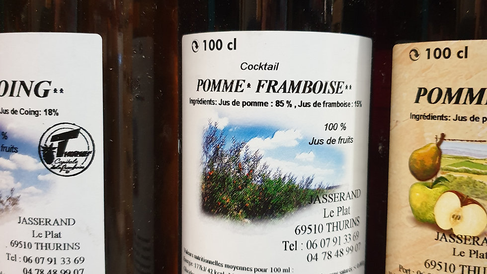 JUS DE FRAMBOISES