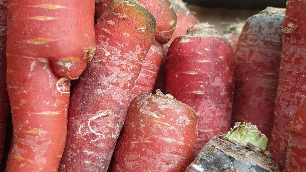 Carottes rouge kg