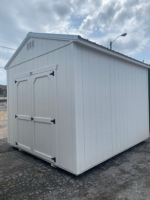 10 x 12 Utility with High Walls