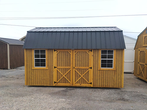10x16 Lofted Barn with 2x3 windows