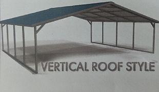 Vertical Style Carport