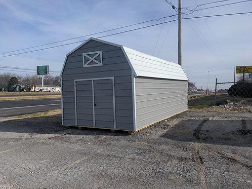 12x24 Metal Lofted Barn